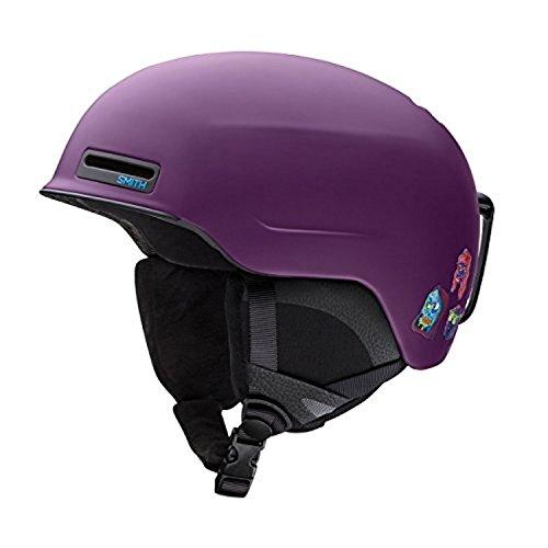 Smith Optics Maze Adult Ski Snowmobile Helmet - Matte Purple Creature/Medium
