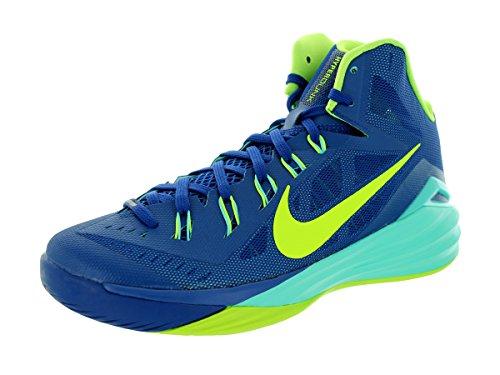 Nike Men's Hyperdunk 2014 Gym Blue/Volt/Hyper Turq Basketball Shoe 11.5 Men US