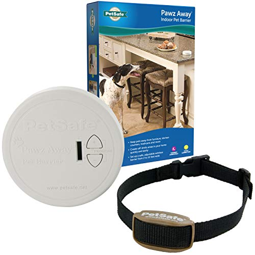 PetSafe Pawz Away Pet Barrier with Adjustable Range, Pet Proofing for Cats and Dogs, Static...