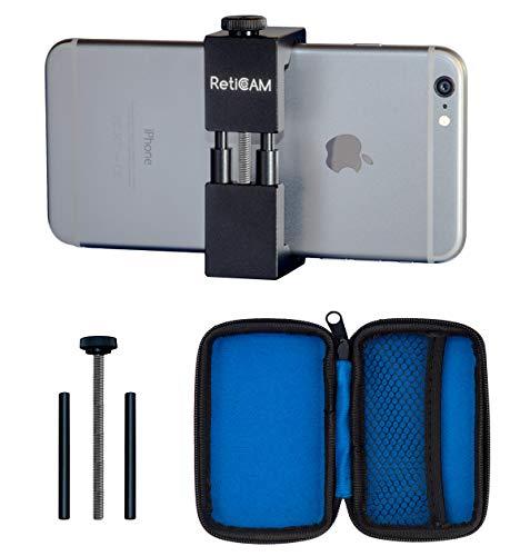 RetiCAM Smartphone Tripod Mount - Metal Universal Smart Phone Tripod Adapter - Standard Size (2.1'...