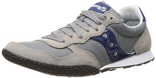 Saucony Originals mens Bullet Sneaker , Grey/Blue , 5 M US