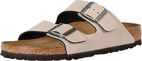 BIRKENSTOCK Arizona Stone Birko-Flor Pull Up 44 (US Men's 11-11.5, US Women's 13-13.5) Regular