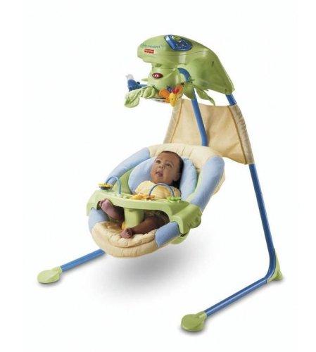 Fisher-Price Papasan Cradle Swing, Nature's Wonder