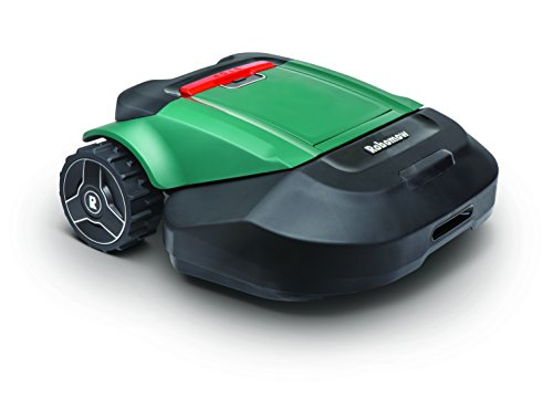 Robomow RS622 Battery Powered Robotic Lawn Mower Medium Yard, 22 inch Cutting Width, Green