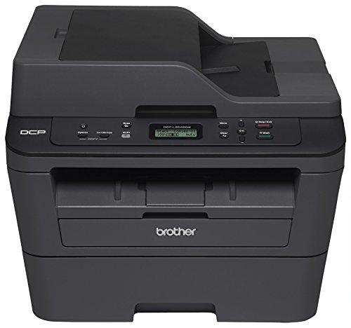 Brother DCPL2540DW Wireless Compact Laser Printer, Amazon Dash Replenishment Ready