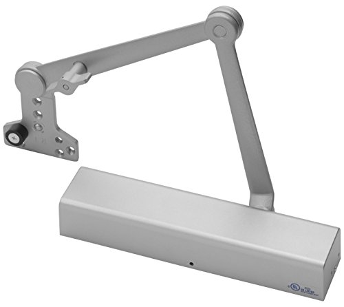 Yale 2721T x 689 Door Closers, 2700, Aluminum Body, 689 Painted Aluminum Finish, Hold Open with Stop...