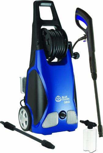 AR Blue Clean, AR383 1,900 PSI Electric Pressure Washer, Nozzles, Spray Gun, Wand, Detergent Bottle...