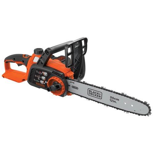 BLACK+DECKER 40V Max Cordless Chainsaw, 12-Inch (LCS1240)