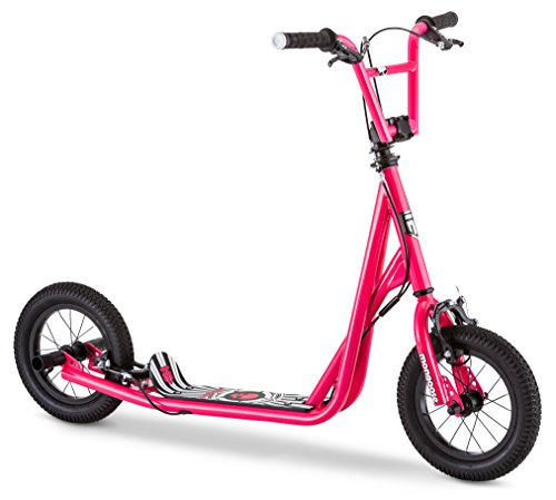 Mongoose Expo Scooter, 12' Air-Inflated Wheels, Multiple Colors