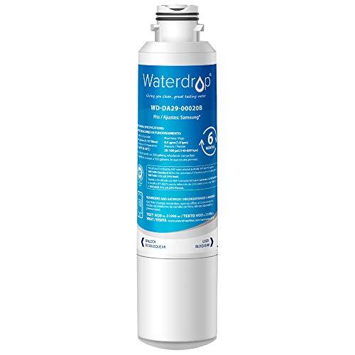 Waterdrop DA29-00020B Refrigerator Water Filter, Replacement for Samsung DA29-00020B, DA29-00020B-1,...