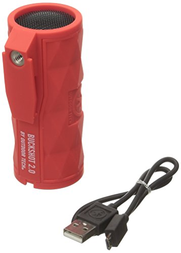 Outdoor Tech OT2301 Buckshot 2.0 Rugged Waterproof Super-Portable Wireless Speaker (Red)