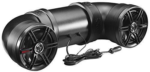BOSS Audio Systems ATV6B Amplified Sound System, Weatherproof Speaker and Tweeter, Built-in...