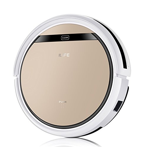 ILIFE V5s Pro Robot Vacuum Mop Cleaner with Water Tank, Automatically Sweeping Scrubbing Mopping...