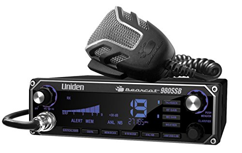 Uniden BEARCAT 980 40- Channel SSB CB Radio with Sideband NOAA WeatherBand,7- Color Digital Display...