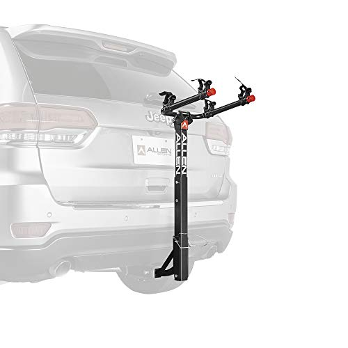 Allen Sports Deluxe 2-Bike Hitch Mount Rack , Silver/Black (522RR)