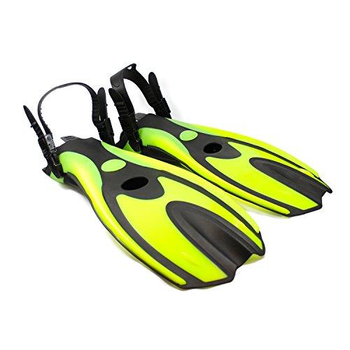 Fishtown Training Swim Fins, High Performance Swim Fins for Beginners, Comfortable Ergonomic Design,...