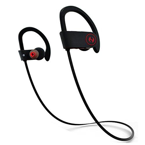 Bluetooth Headphones, Hussar Magicbuds Best Wireless Sports Earphones with Mic, IPX7 Waterproof, HD...