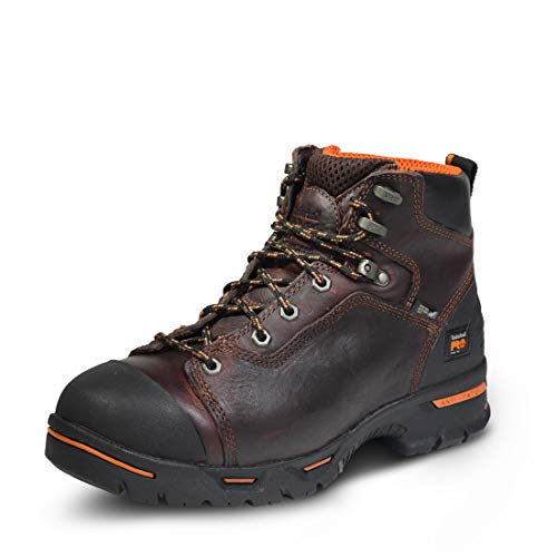 Timberland PRO Men's Endurance 6 Inch Steel Safety Toe Puncture Resistant Work Boot Industrial,...