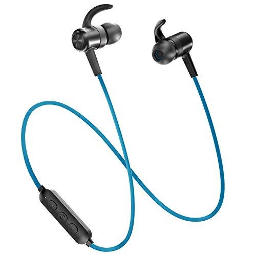 Bluetooth Headphones TaoTronics Wireless Earbuds Sport Earphones 9 Hours 4.2 Magnetic Lightweight &...