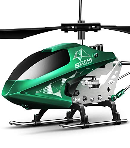Remote Control Helicopter, S107H-E Aircraft with Altitude Hold, One Key take Off/Landing, 3.5...