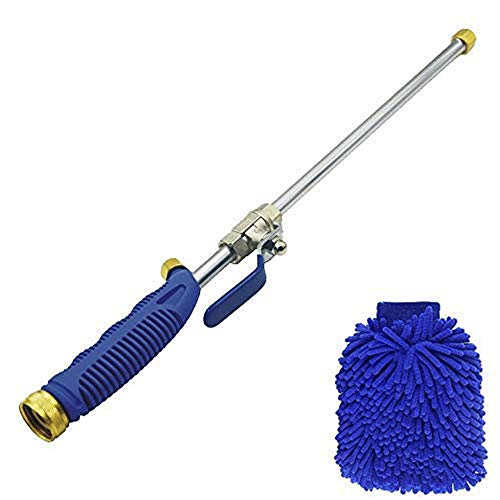 Buyplus Magic High Pressure Wand - Improved Power Washer Water Hose Nozzle, Hydro Water Jet, Glass...