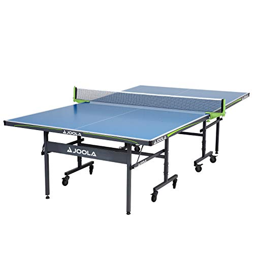JOOLA Table Tennis Table with Waterproof Net Set | All Weather Aluminum Composite Ping Pong Table...