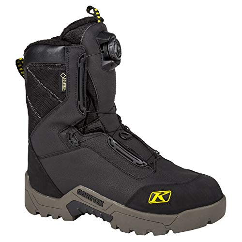 Klim Arctic GTX Men's Snocross Snowmobile Boots Boots - Black Size 10