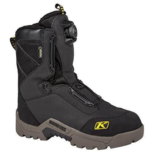 Klim Arctic GTX Men's Snocross Snowmobile Boots Boots - Black Size 10