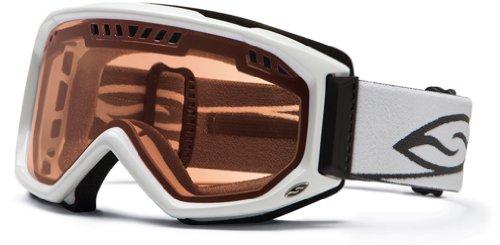 Smith Optics Scope Goggle (White Frame, Blue Sensor Mirror Lens)