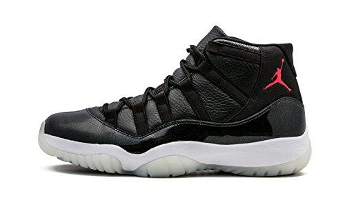 Men's Nike Air Jordan 11 '72-10' Retro Basketball Shoes 378037-002 (11), Black/Gym...