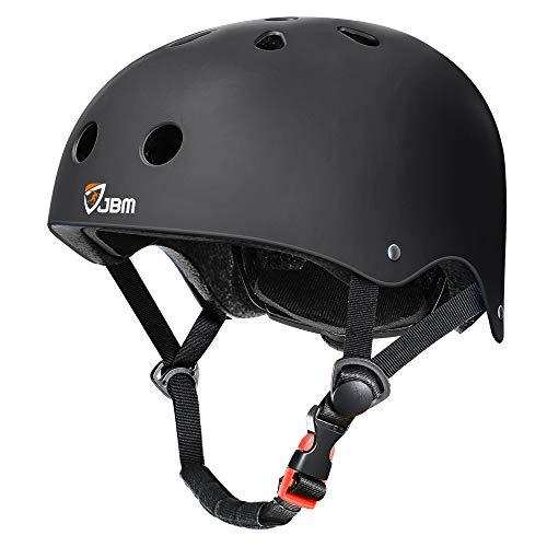 JBM Skateboard Helmet Impact Resistance Ventilation for Multi-Sports Cycling Skateboarding Scooter...