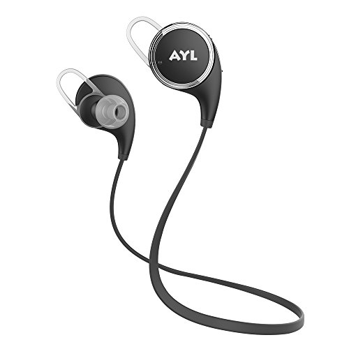 AYL Bluetooth Headphones V4.1 Wireless Sport Stereo in-Ear Noise Cancelling Sweatproof Headset with...