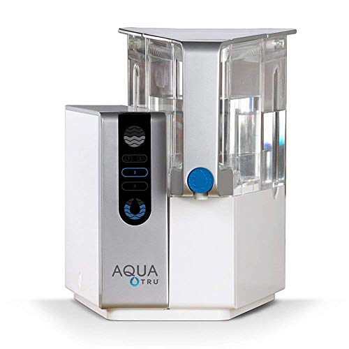AQUA TRU Countertop Water Filtration Purification System with Exclusive 4 - Stage Ultra Reverse...