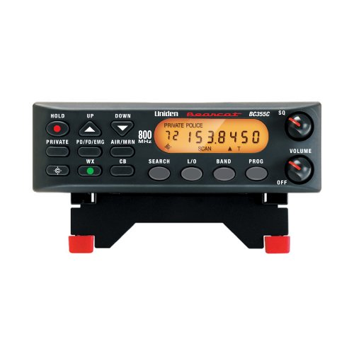 Uniden BC355N 800 MHz 300-Channel Base/Mobile Scanner, Close Call RF Capture, Pre-programmed Search...