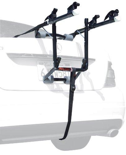 Allen Sports Deluxe 2-Bike Trunk Mount Rack, Model 102DB,Blk/ Silver