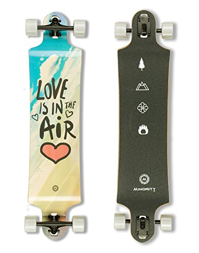 MINORITY Downhill Maple Longboard 40-inch Drop Deck (Love)