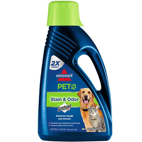 BISSELL 2X Pet Stain & Odor Full Size Machine Formula, 60 ounces, 99K5A