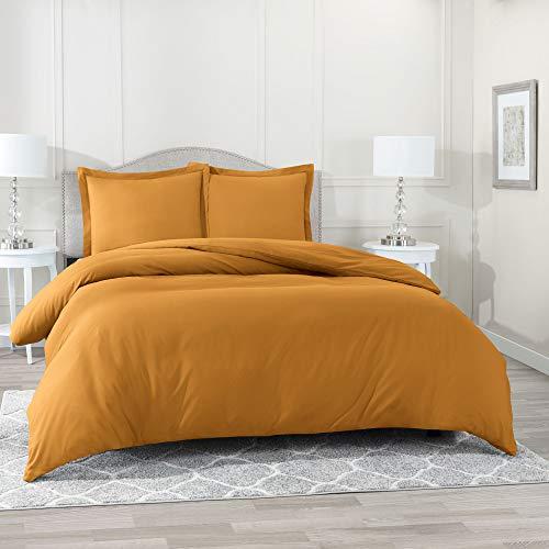 Nestl Duvet Cover 3 Piece Set – Ultra Soft Double Brushed Microfiber Hotel-Quality – Comforter...