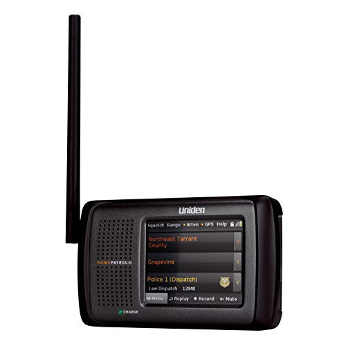 Uniden HomePatrol-2 Color Touchscreen Simple Program Digital Scanner, TrunkTracker V and S,A,M,E,...