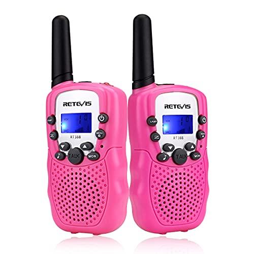 Retevis RT-388 Kids Walkie Talkies for Girls Boys,6-12 Year Old Kids' Toys,22 CH LCD...