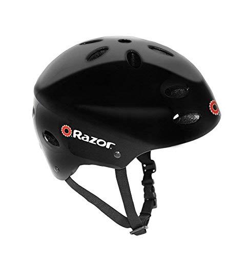 Razor 97780 V-17 Child Multi-Sport Helmet, Black Gloss