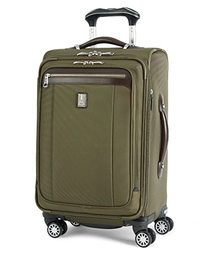 Travelpro PlatinumMagna2 Carry-On Expandable Spinner Suiter Suitcase, 21-in., Olive