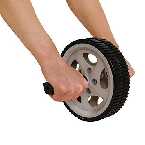 Sunny Health & Fitness Ab Roller Wheel for Abdominal Exercise Core Trainer Wheel Roller - NO. 003