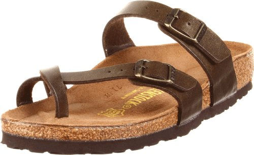 Birkenstock Women's Mayari Sandal,Golden Brown,38 EU/7-7.5 M US
