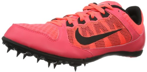 NIKE ZOOM RIVAL MD 7 AT RED/BLACK MENS SPIKED TRACK SHOE US 8 M EURO 41