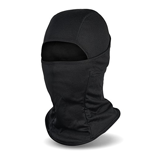 Balaclava Ski Mask, Winter Hat Windproof Face Mask for Men and Women, Black