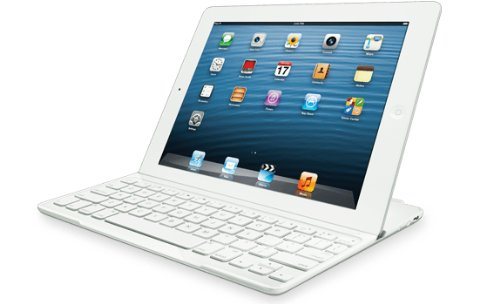 Logitech Ultrathin Keyboard Cover for iPad 2/3 - White