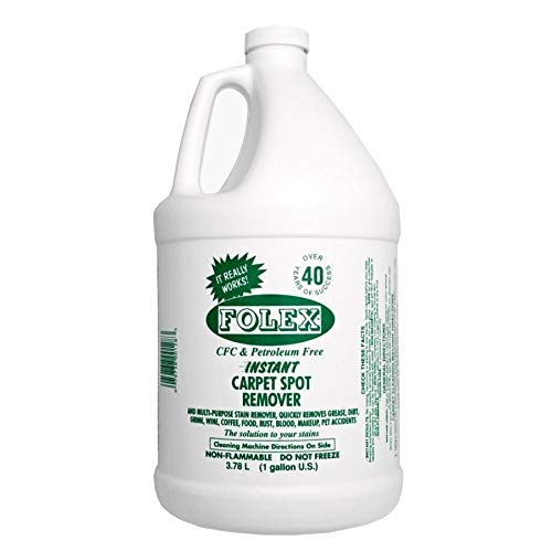 Folexport FSR128 Folex Gallon Spot Remover, 1, White Bottle