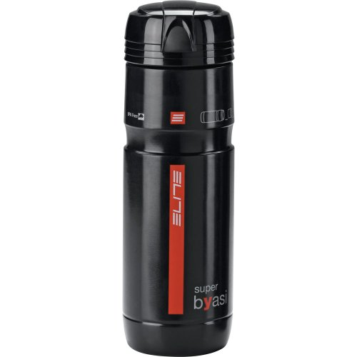 Elite 0122902 Super Byasi Water Bottle, Black