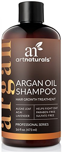 Art Naturals Organic Argan Oil Hair Loss Shampoo for Hair Regrowth 16 Oz -Sulfate Free-Best...
